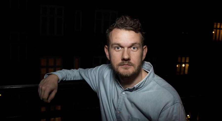 Andreas Kirkelund, der til daglig bor på Østerbro i København, er netop blevet kunde i Nordea, som er skeptisk over for kryptovalutaer. Foto: Maria Albrechtsen Mortensen/Ritzau Scanpix