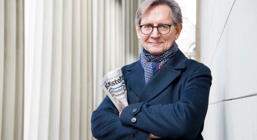 Erik Bjerager har næsten tredoblet læsertallet på Kristeligt Dagblad. Foto: Leif Tuxen / Ritzau Scanpix