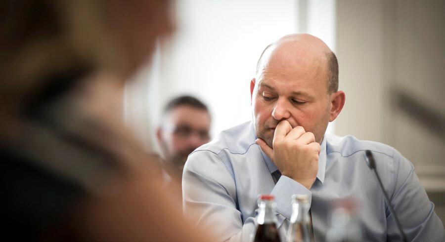 Justitsminister Søren Pape Poulsen, der står for implementeringen af »Stop Stalking,« som er det tiltag, ministeriet fremlagde i marts 2016.
