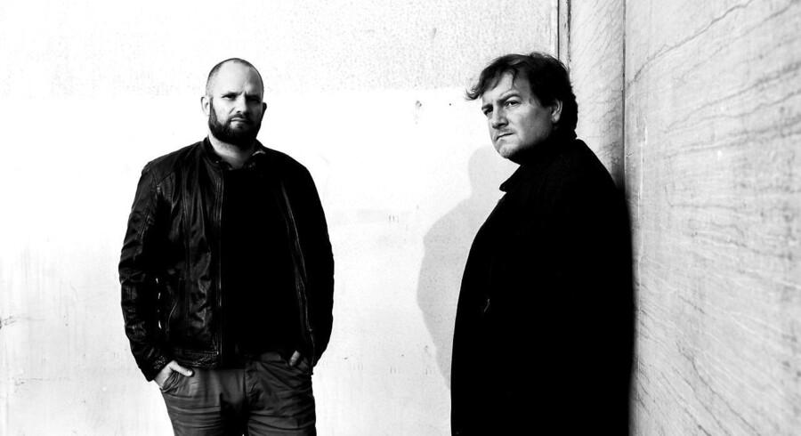 Mikkel Andersson og Niels Jespersen, som har skrevet en ny bog »Eksperimentet der slog fejl«.