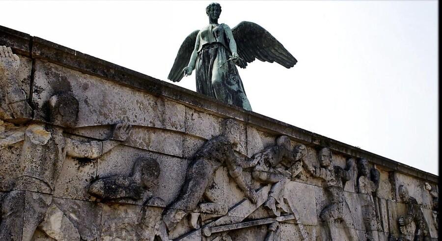 Der døde 648 danske søfolk under Første Verdenskrig. Til deres minde rejste man i 1928 Svend Rathsacks mindesmærke ved Langelinie.Scanpix