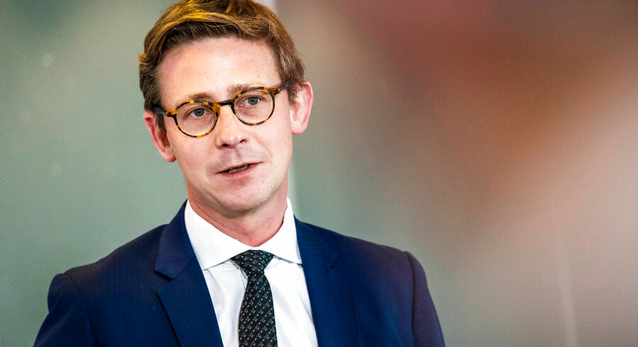 Skatteminister Karsten Lauritzen. (Foto: Olafur Steinar Gestsson/Ritzau Scanpix)