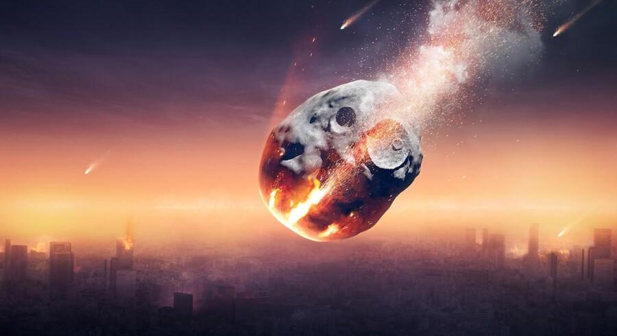 Ingen storby i verden ville kunne overleve et møde med en meteor så stor som den, der skabte kæmpekrateret i det nordvestlige Grønland.