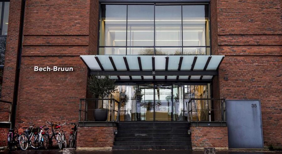 Advokatfirmaet Bech-Bruun skifter nu forklaring i sagen om udbytteskat. Foto: Liselotte Sabroe/Ritzau Scanpix