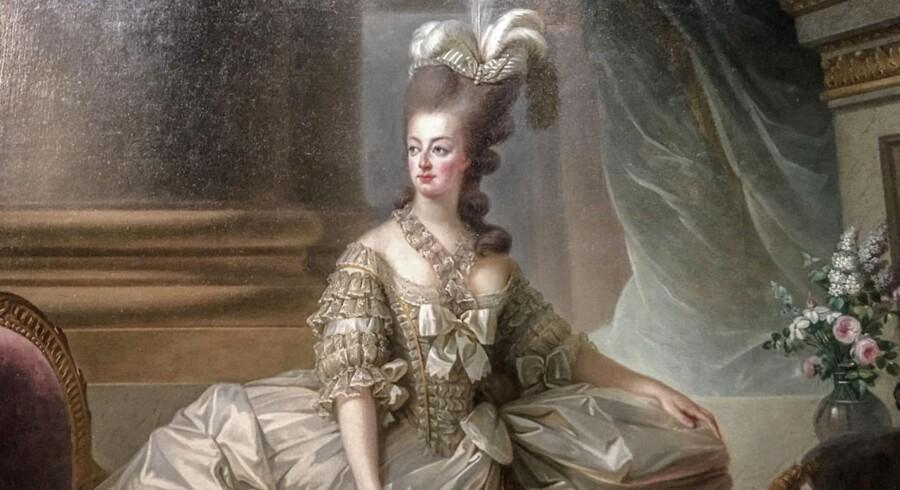 Marie-Antoinette malet i 1778 af Élisabeth Louise Vigée Le Brun. Scanpix