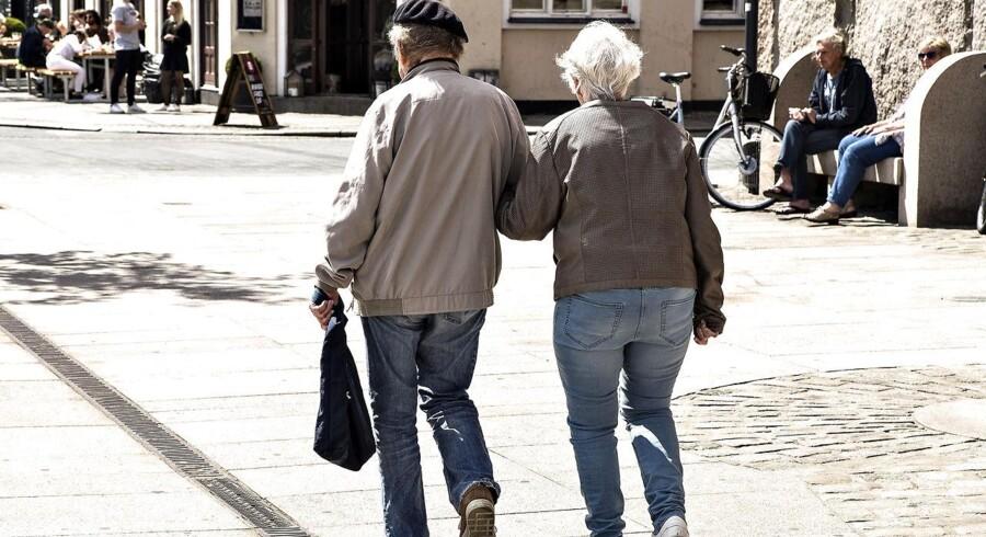 Folkepensionsalderen stiger fra næste år. Og det kommer til at fortsætte de næste mange år.