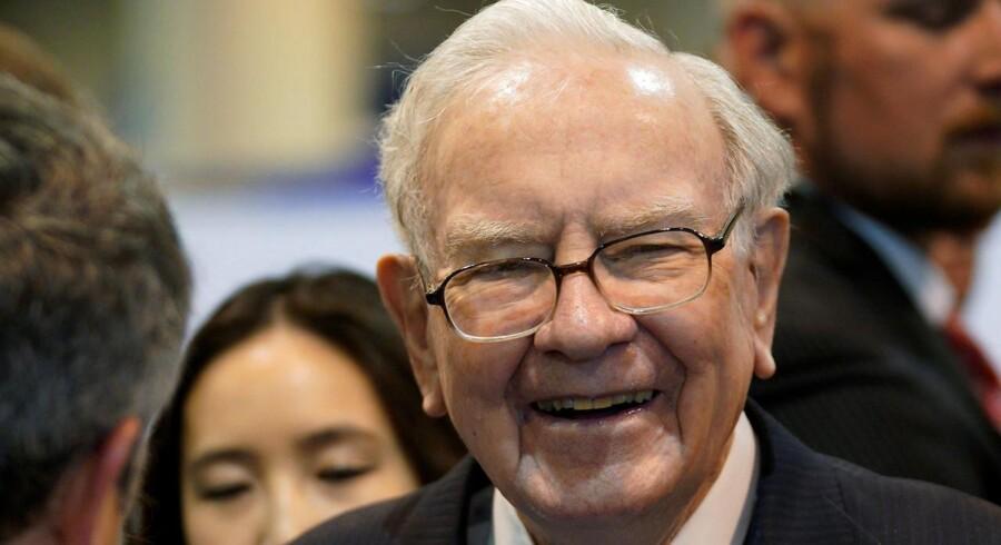 Investorguruen Warren Buffett har købt stort ind af amerikanske bankaktier i tredje kvartal. Foto: Reuters/Rick Wilking/Ritzau Scanpix