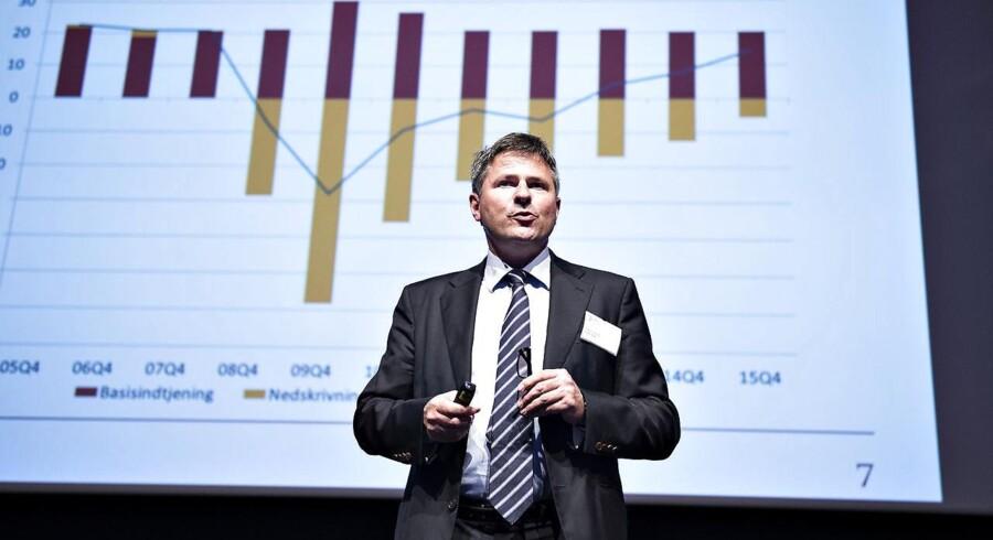 Finanstilsynet kritiseres bl.a. for ikke at have taget kontakt til whistlebloweren i Danske Banks hvidvasksag. Her tilsynets direktør, Jesper Berg.