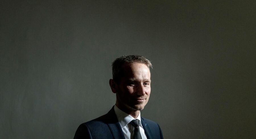 Portræt af Finansminister, Kristian Jensen (V).