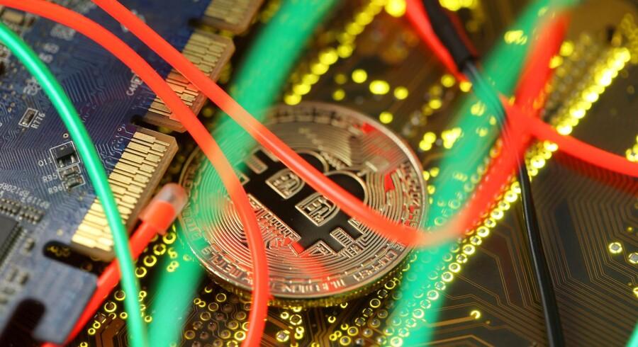 Bitcoin er i modvind - igen. Foto: Reuters/DadoRuvic/Ritzau Scanpix