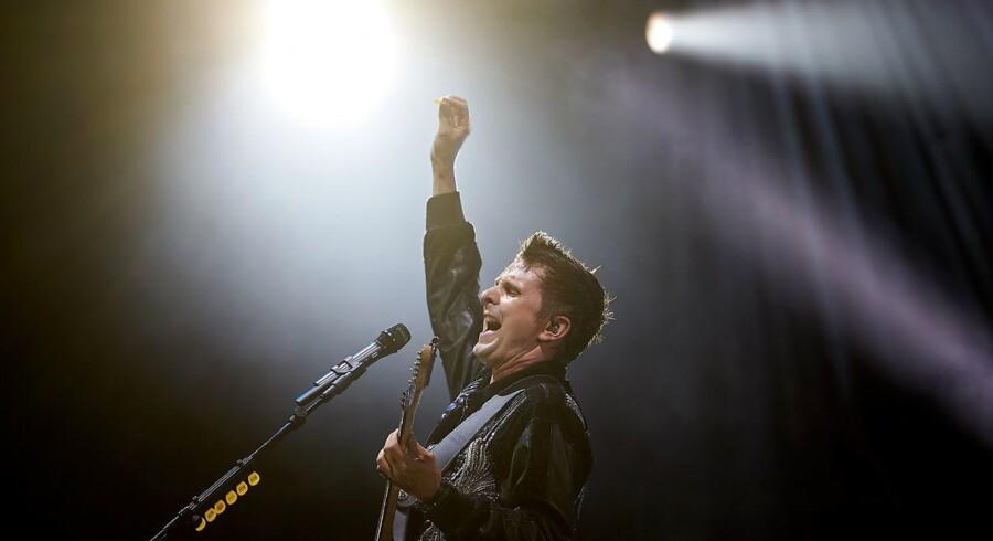 Forsanger Matthew Bellamy under en koncert ved »Rock am Ring« i Tyskland i 2018.
