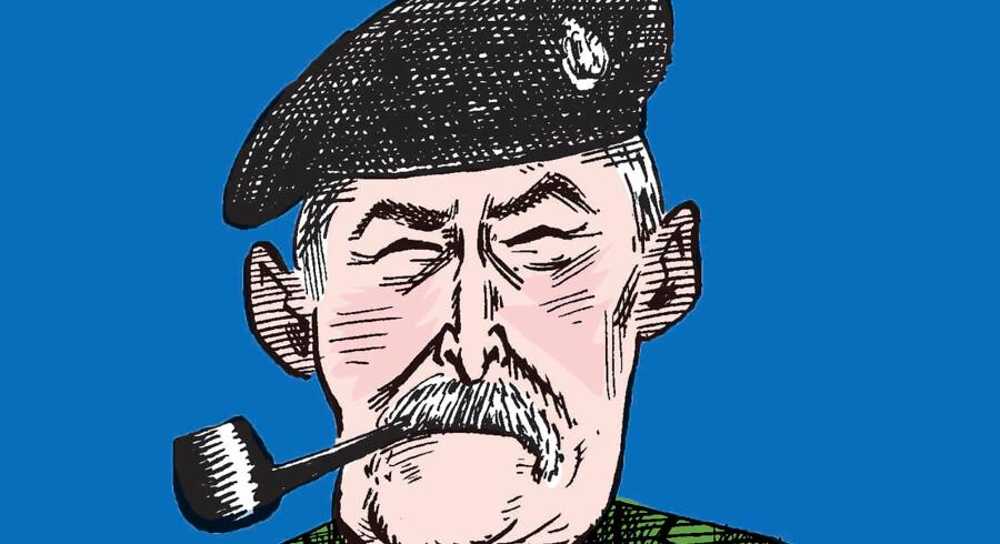Lars R Møller. Tegning: Claus Bigum