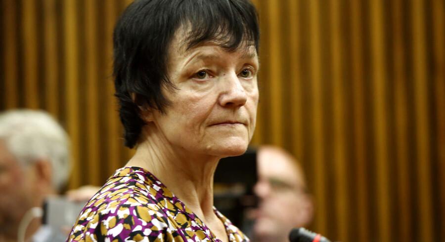 Britta Nielsen i Randburg Magistrate Court i Johannesburg tidligere på måneden.