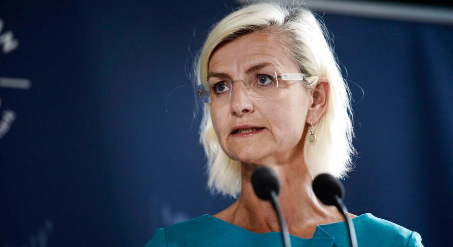 Arkivfoto. Udviklingsminister Ulla Tørnæs fotograferet 30. august 2016. En ambassadør er indkaldt til samtale, og ministerrejse til Tanzania er aflyst efter homofobisk kommentar. Det skriver Ritzau, onsdag den 14. november 2018.