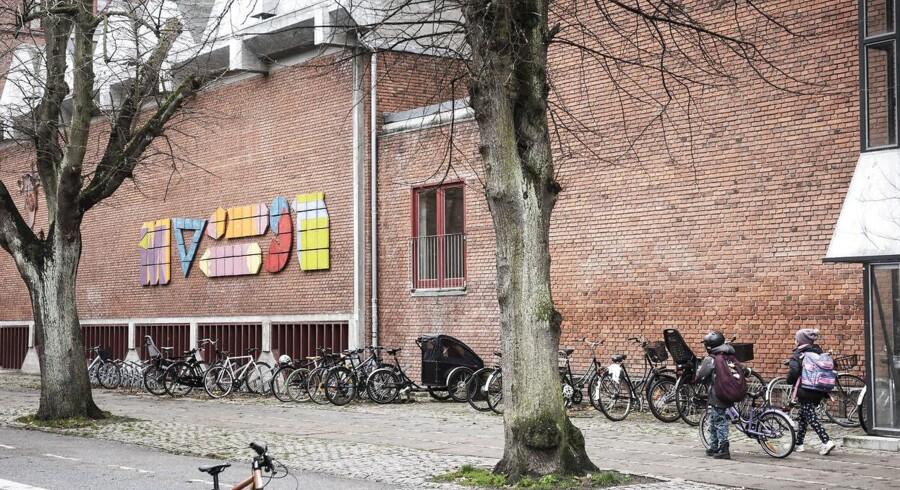 Lærerne på Blågård Skole bliver udsat for vold og trusler fra tidligere elever. Foto: Maria Albrechtsen Mortensen/Ritzau Scanpix