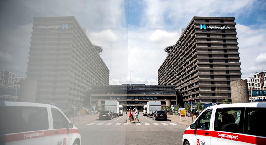 Sundhedsplatformen, som er Region Hovedstadens IT-system på hospitalsområdet, har siden introkuktionen i 2016 været udsat for stærk kritik. Senest har fejl betydet, at flere tusinde patienter er blevet fejlmedicineret. På billedet ses Rigshospitalet i København.