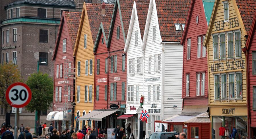Norske arkivmyndigheder ønsker nu et dokument fra 1299, som er udstyret med det historisk bysegl fra Bergen (foto), udleveret fra Danmark.