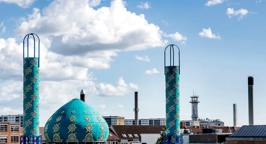 Imam Ali Moske på Vibevej på Nørrebro i København.