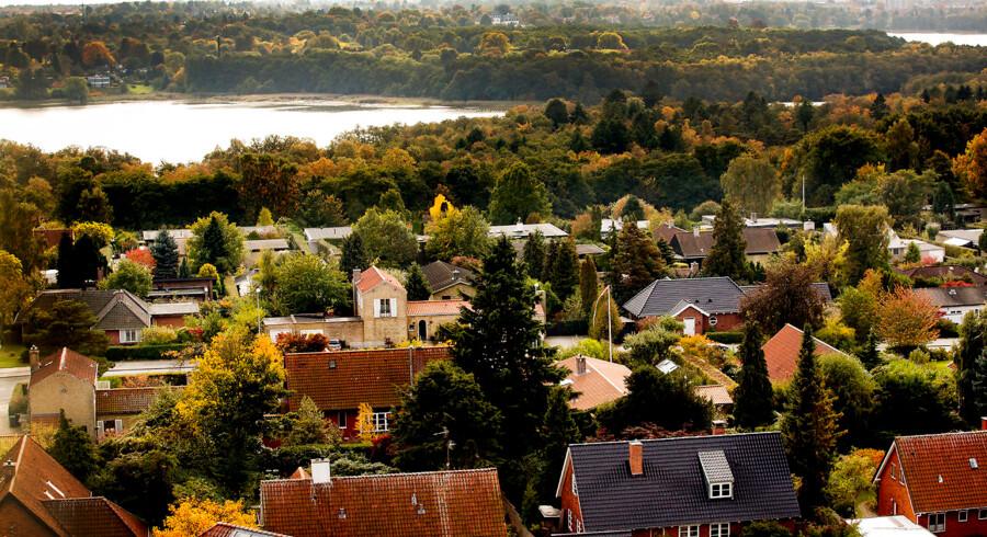 I Københavns omegn og i Nordsjælland blev der solgt henholdsvis 6,4 og 4,4 pct. færre huse i de første 10 måneder af 2018 sammenlignet med samme periode sidste år.