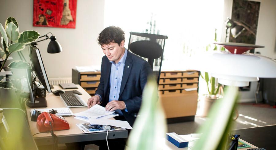 Borgmester i Vallensbæk Kommune Henrik Rasmussen (K) kan glæde sig over, at Vallensbæk er den mest globaliserede kommune i Danmark. Blandt andet fordi kommunen har været god til at tiltrække udenlandske virksomheder.
