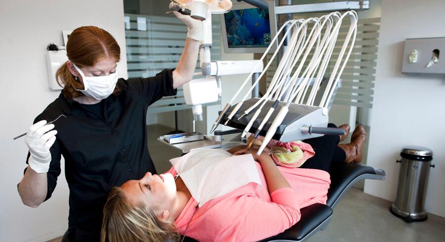 En sund mund påvirker hele kroppens sundhed. Arkivfoto: Jens Nørgaard Larsen/Ritzau Scanpix