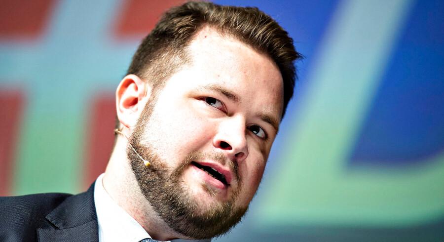 Anders Vistisen (DF) ønsker ikke, at Danmark bliver en del af bankunionen.
