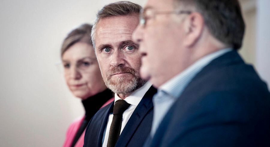 Forsvarsminister Claus Hjort Frederiksen (V), udenrigsminister Anders Samuelsen (LA) og udviklingsminister Ulla Tørnæs (V) lancerede i sidste uge en ny udenrigs- og sikkerhedspolitisk strategi for 2019-2020. Den har fået en iskold modtagelse i Rusland.