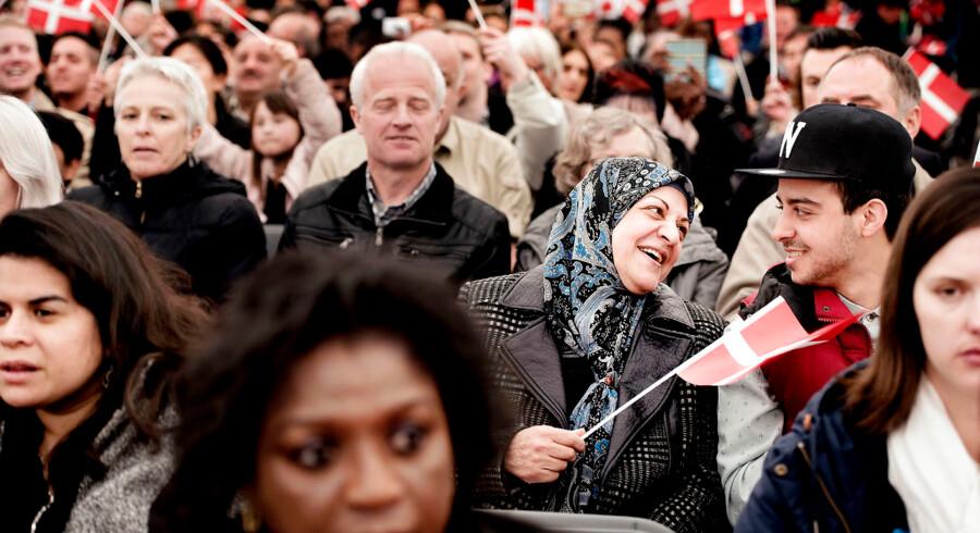 Den årlige statsborgerskabsdag, hvor Folketinget fejrer de nye danske statsborgere.