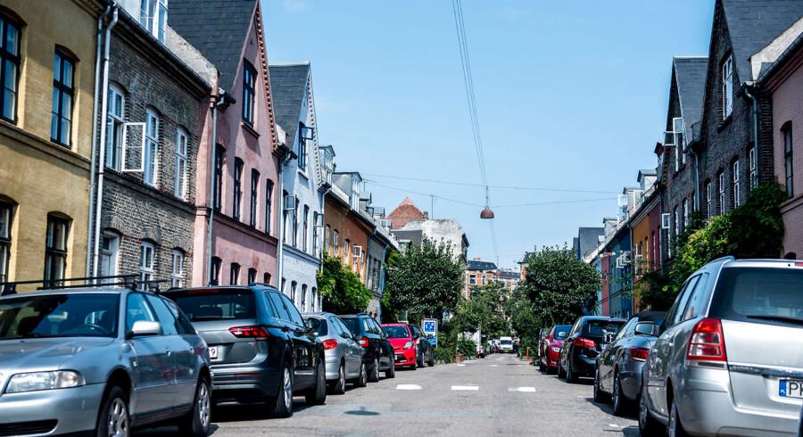 Parkering, København