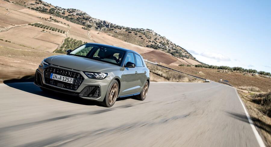 Det er slut med dieselmotorer i Audi A1 – ihvertfald fra lanceringsstart, hvor den kun fås med turbobenzinmotorer fra 95 hk til 200 hk.