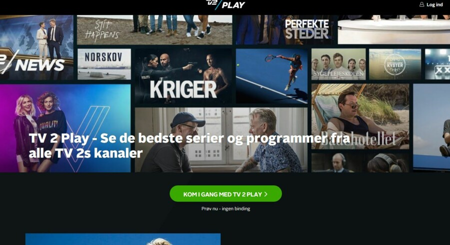 Det traditionelle flow-tv går tilbage, mens streaming går frem. Blandt andet TV 2 Play har en meget stor fremgang i antallet af nye kunder. Samlet set har TV 2 Play passeret 450.000 betalende kunder.