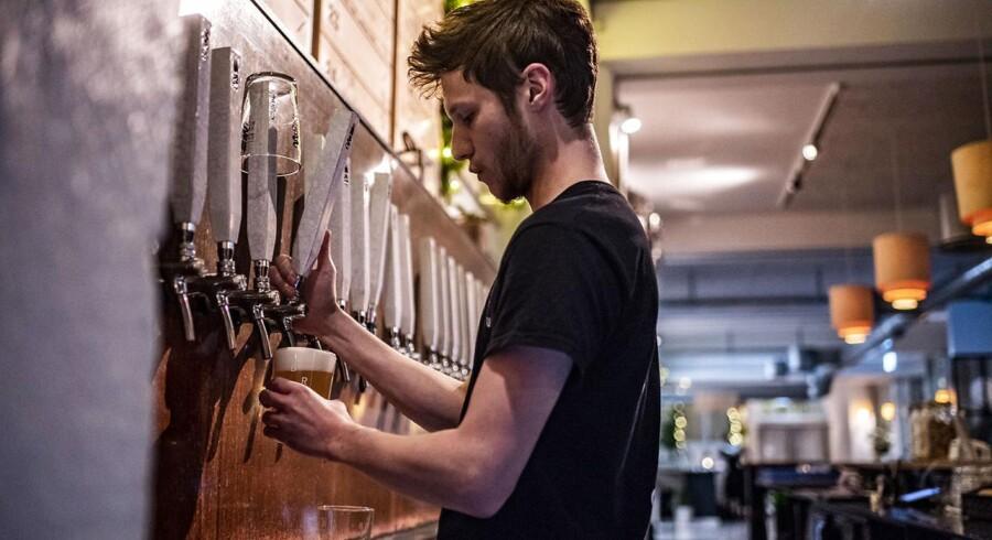 Brus ølbar på Guldbergsgade.