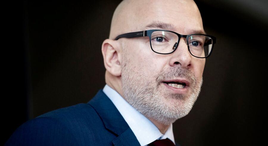 Midlertidig adm. direktør for Danske Bank, Jesper Nielsen.