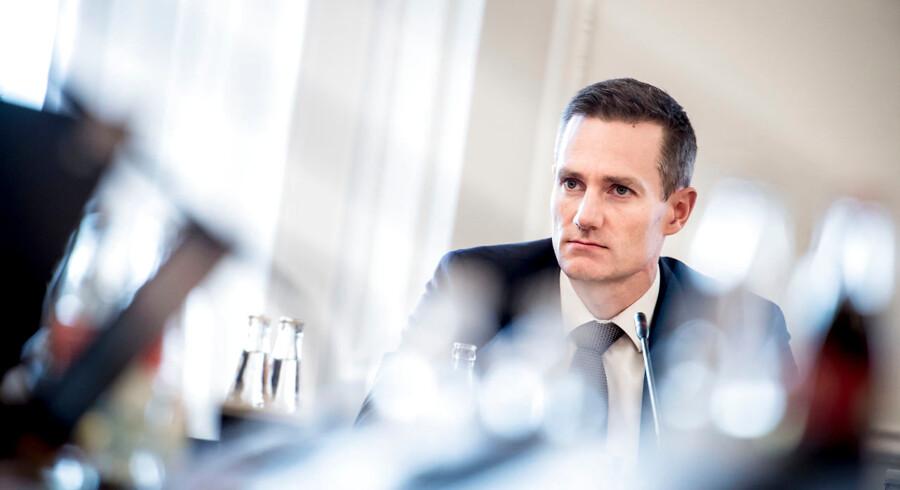 Hvidvasksagen er dybt alvorlig, og derfor er det både naturligt, rimeligt og nødvendigt, at Danske Bank nu sigtes af bagmandspolitiet, lyder det fra erhvervsminister Rasmus Jarlov (C).