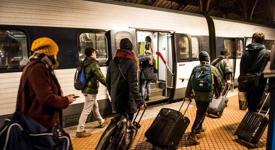 Aflysninger og forsinkelser har præget togtrafikken det meste af onsdagen.