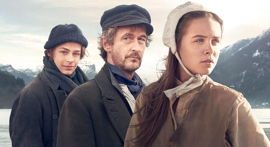 Hans (Albert Rudbeck Lindhardt), Kneisvig (Lars Brygmann) og Marie (Anine-Petrea Lindvig) er i front i »Håbet«, TV2s nye familieserie