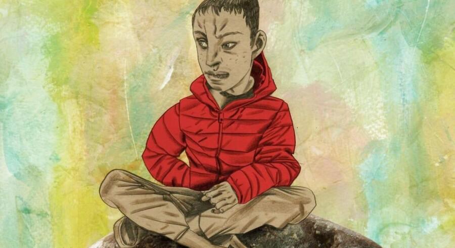 Den britiske kunstner, Dave McKean, har illustreret tegneserien om den unge bombemand, der kommer på andre tanker, da han møder bøgernes verden på det bibliotek, han havde planlagt at sprænge i luften. Efter anklager om islamofobi har forlaget nu trukket udgivelsen tilbage, og McKean har undskyldt på Twitter.