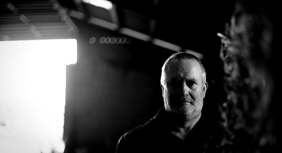 Anders Borrisholt, der driver et landbrug lidt udenfor Farsø, har haft oplevelser med kontrollanter som snusede rundt på hans ejendom, uden at han vidste det. Foto: Bo Amstrup/Ritzau Scanpix