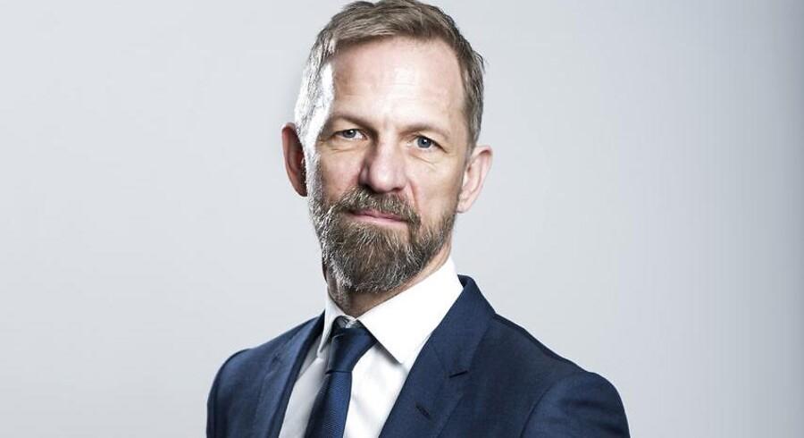 Portræt af Anders Krab-Johansen, administrerende direktør for Berlingske Media.