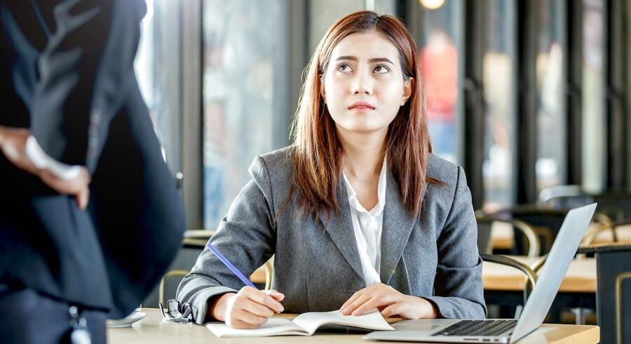 Som leder skal man have blik for og finde ud af, hvorfor en medarbejder f.eks. opfører sig dårligt. Genrefoto.