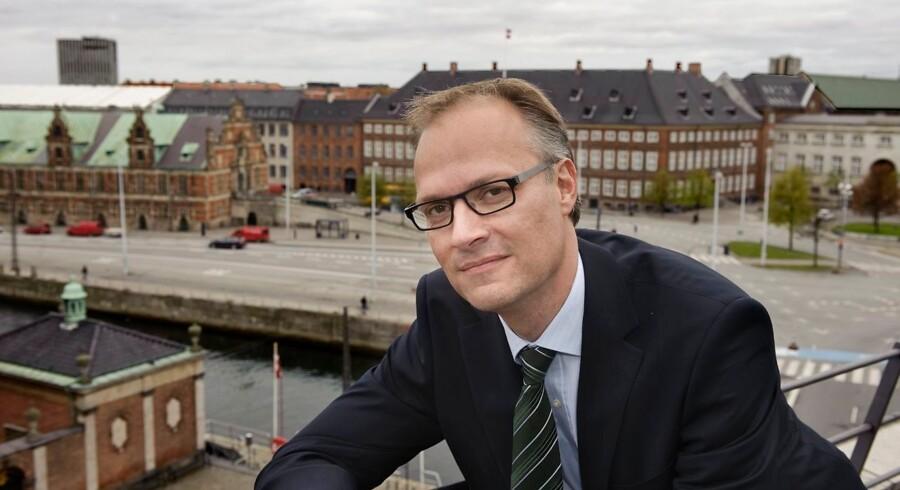 Christian Schønau, hofchef ved Kronprinsparret Hof, bliver nyt medlem af bestyrelsen i Poul Due Jensens Fond. Arkivfoto: Jens Nørgaard Larsen/Ritzau Scanpix