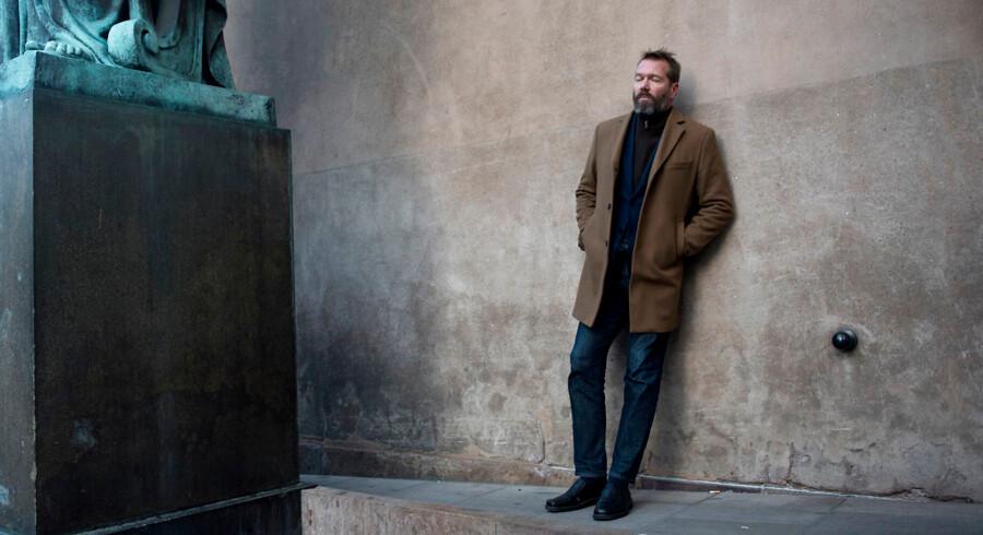 Forfatter Anders Rønnow Klarlund om utroskab/skilsmisse i forbindelse med serien »De ti bud«.