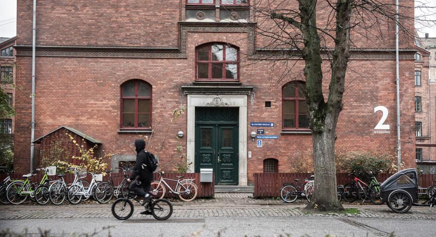Blågårds Skole er en af de skoler, der gennem de seneste uger er blevet nævnt i forbindelse med vold og trusler mod lærere og elever.