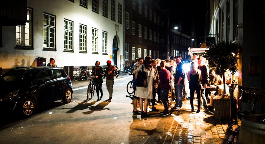 Indre København plages af nattelivet. Her Studiestræde, hvor naboer glæder sig til de skærpede regler fra kommunen.