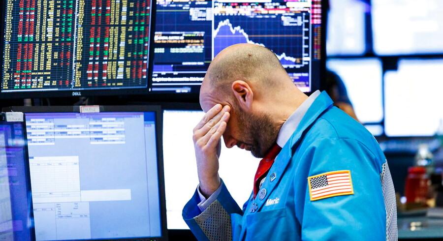 Amerikanske aktier dykkede i tirsdags, og rejste endnu en gang spørgsmålet om den store aktie nedtur er nær.