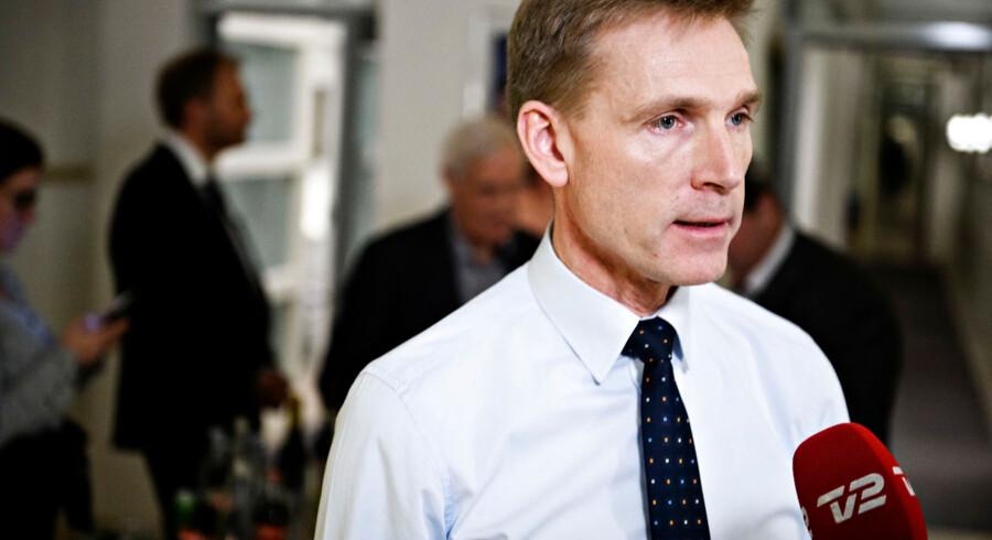 Kristian Thulesen Dahl afviser regeringens udlægning af FN-erklæring om migration, som DF er imod.