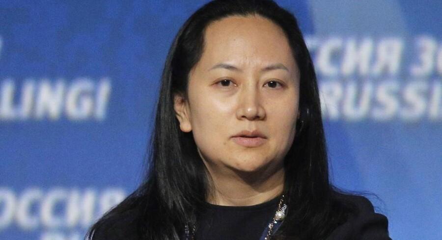 Huaweis koncernfinansdirektør, Meng Wanzhou, som er datter af Huaweis stifter og topchef, er blevet anholdt i Canada og kræves udleveret til USA. Foto: Maxim Shipenkov/EPA