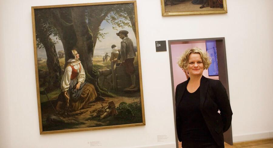 Kunsthistorikeren Britta Tøndborg har en bred erfaring for at forske i og udvikle kunstmuseerne i Danmark