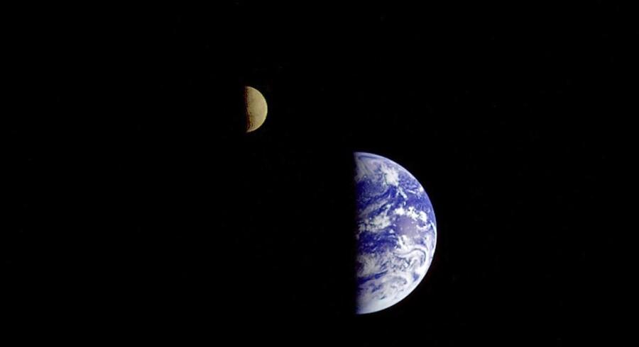 Arkivfoto. Taget af NASAs Galileo-fartøj i 1992.
