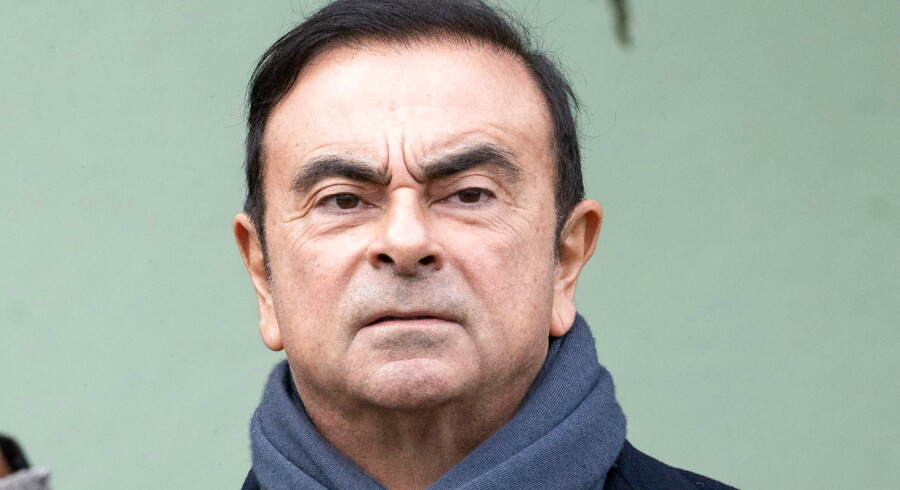 Arkivfoto. Carlos Ghosn, der op til sin anholdelse sad som bestyrelsesformand i Nissan, er blevet tiltalt for finansiel kriminalitet i Japan.